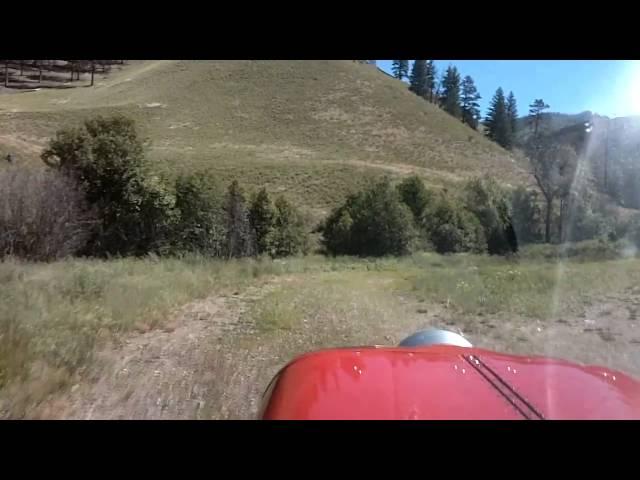 Cabin Creek USFS - I08 - Approach and Landing ( Idaho backountry ) HD