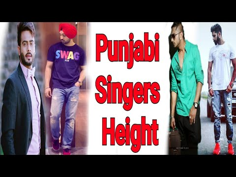 Punjabi Actors and Singers Height Comparison | Shortest vs Tallest
