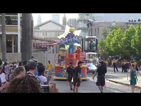 [4K] Universal Studios Florida - Universal's Superstar Parade