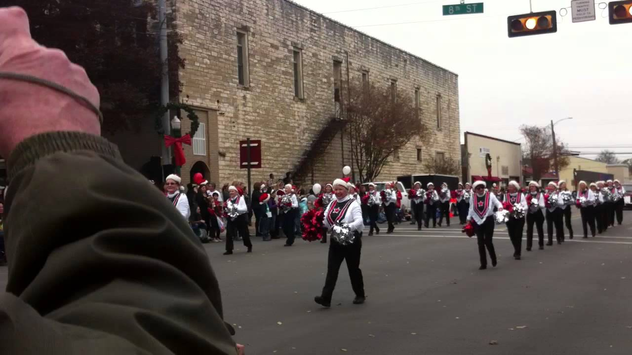 Georgettes, Georgetown, TX Christmas Stroll 2014 - YouTube