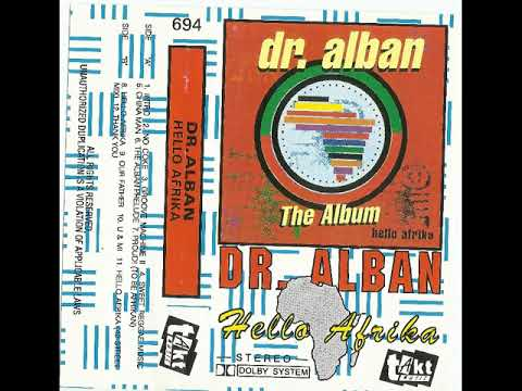 Dr. ALBAN - Album ''Hello Afrika'' (The best Quality)
