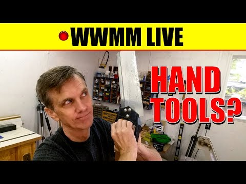 🔴 Hand Tools?? Paddle boat follow-up. WWMM LIVE
