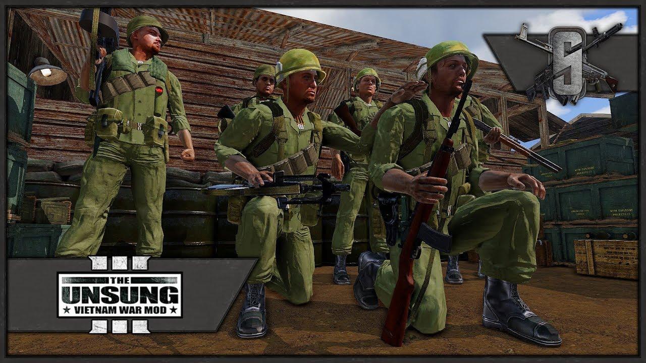 The Unsung Vietnam War Mod 3 0E - Echo Released !!! - ARMA 3