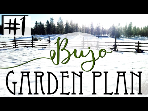 How To Garden Plan In A Bullet Journal - #1 Location & Land