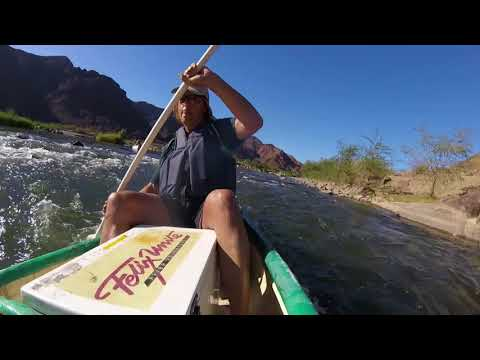 Paddling Down the Orange River in Richtersveld South Africa and Namibia