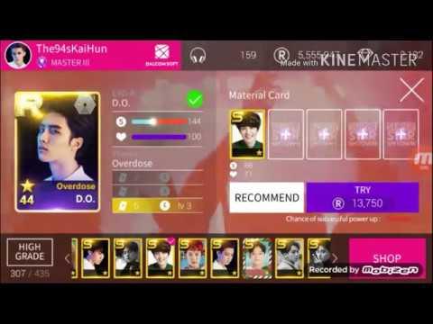 Superstar SMTown - EXOK R43 - R51 / TAEYOEN New Theme [POWER UP CHANCE EVENT] Part 2/2