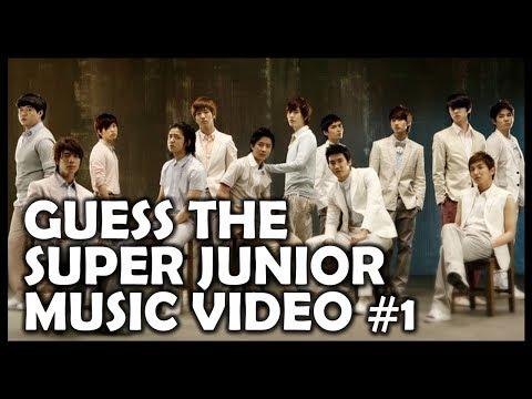 Kpop Quiz: Guess the SUPER JUNIOR Music Video #1