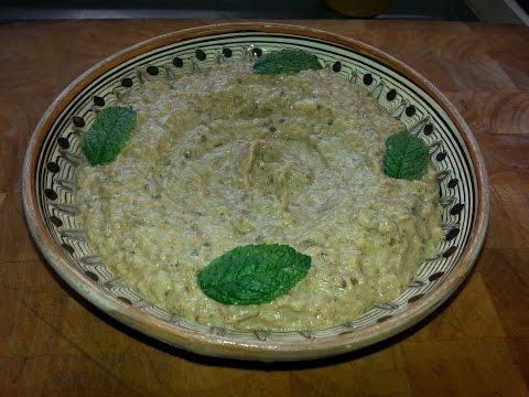 cuisine-libanaise---caviar-d'aubergine