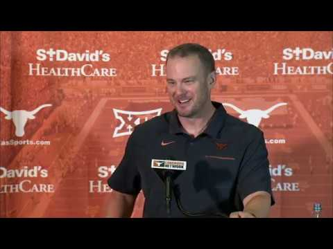 None - Tom Herman looks forward to start of season