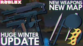 THE BIGGEST WINTER UPDATE in PHANTOM FORCES HISTORY (Roblox)