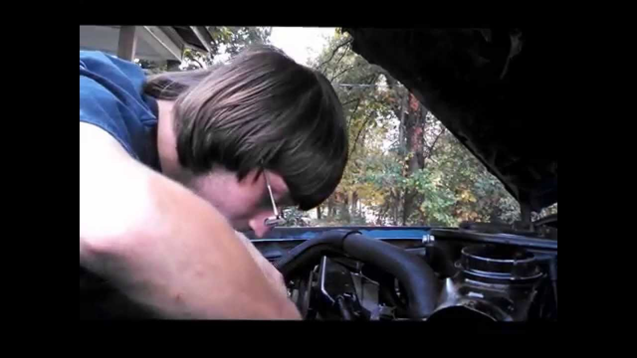 alternator and smog pump belt installion on 1985 chevrolet s10 blazer [ 1280 x 720 Pixel ]