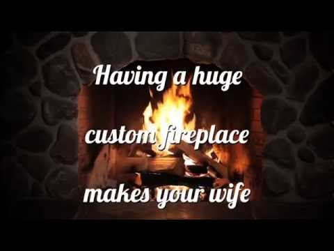 C21 Valentine's Day Fireplace Poem - YouTube