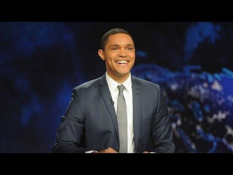 Trevor Noah Pays Tribute To Jon Stewart On Daily Show Hosting Debut Youtube