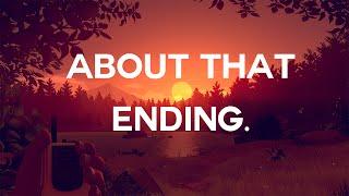 Understanding Firewatch's Brutal Ending.