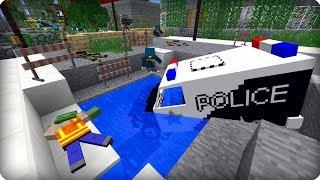 видео: Заброшенный мегаполис! [ЧАСТЬ 6] Зомби апокалипсис в майнкрафт! - (Minecraft - Сериал)