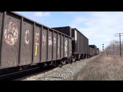 Railfanning Newtonville & Port Hope, Ontario part 2. 3/31/12