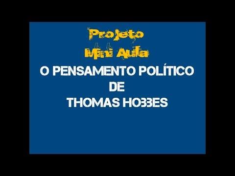 Thomas Hobbes - O pensamento político de Hobbes