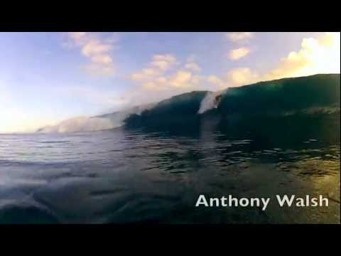 anthony walsh and friends in Tahiti with...