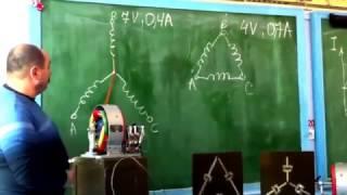 видео Трехфазный ток