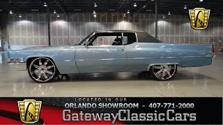 1969 Cadillac Sedan Deville Gateway Classic Cars Orlando #246