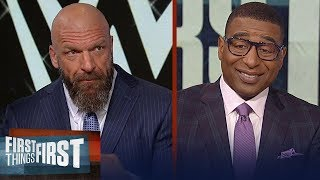 Triple H previews Wrestlemania 35, talks preparing for Batista and more | WWE | FIRST THINGS FIRST