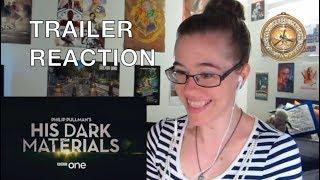 TARDISgirl Reacts - His Dark Materials Teaser Trailer