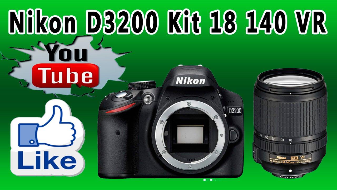 Цифровая зеркальная фотокамера Nikon D3200 Kit 18-55 VR II Black .