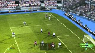 PES 2011 - GamePlay - DEMO -  PC - HD