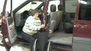 Wheelchair Access Alternative: Using The Glide 'n Go To Transfer To Van Stowing Your Wheelchair