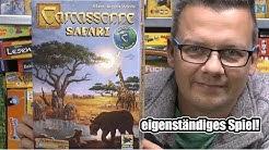 Carcassonne Safari (Hans im Glück) - ab 7 Jahre - eigenständiges Spiel
