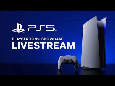 PS5 Showcase Event Livestream