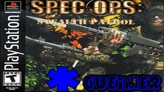 Spec Ops Stealth Patrol - (Gameplay PS1)