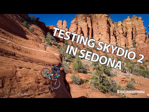 Testing My New Skydio 2 Drone in Sedona   MTB