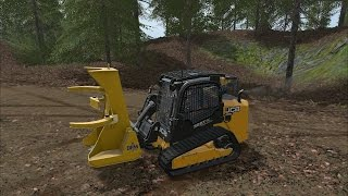 Farming Simulator 17 - Forestry Equipment - JCB 325T - DFM Attachments