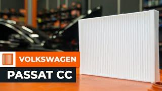 Hur och när byter man Kupeluftfilter VW PASSAT CC (357): videohandledning