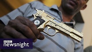 The Hunt for Gaddafi's Golden Gun (FULL FILM) - BBC Newsnight