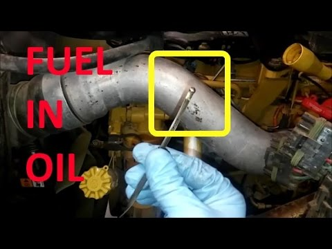 How To Troubleshoot Fuel In Oil Contamination .  Diesel Fuel Dilution.