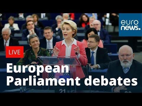 European Parliament debates ahead of crucial Commission vote | LIVE