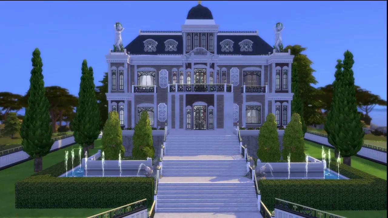 Maison De Luxe Sims 4 Heure De Gloire Construction Youtube