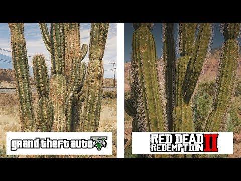 RDR 2 (ONE X) vs GTA V (PC Ultra)