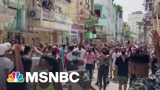 Cuba Cracks Down On Protests Amid Worst Economic Crisis In Decades