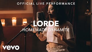 Homemade Dynamite Lorde