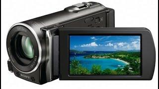 новое приобретение!Видеокамера Sony HDR-CX210E