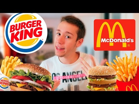 McDonald's VS Burger King 🍔  ¿Cuál es mejor? 🍟