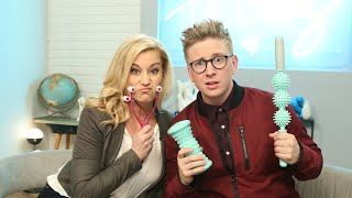 'The Tyler Oakley Show': Trying Crazy Products with Kellie Pickler