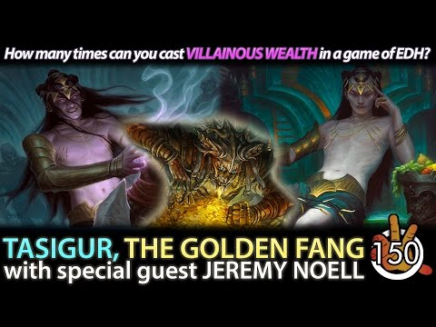 Tasigur, the Golden Fang w/ Jeremy Noell | The Command Zone #150 | Magic: the Gathering Podcast