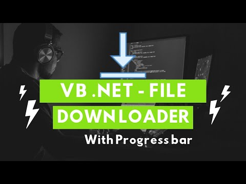 How to download a file using VB  .Net with Progress?