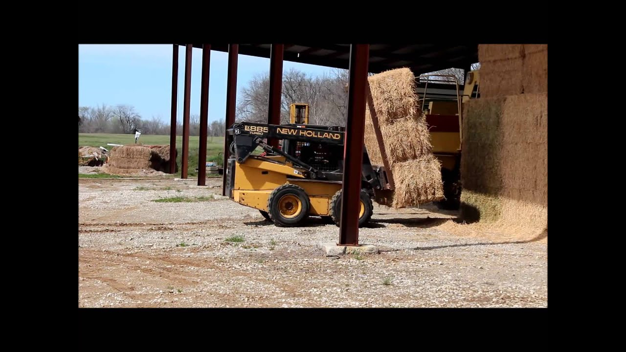 1995 New Holland LX885 skid steer for sale | sold at auction May 29, 2013