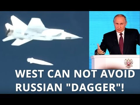 """BREAKING: Putin Reveals Hypersonic, High-Precision-Guided """"Kinzhal"""" (Dagger) Air-Missile System"""