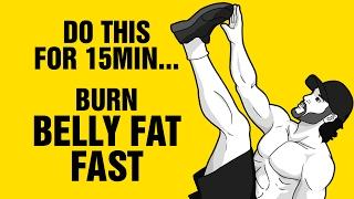 15 Min Tri-Bata Fat Burning Workout : Burn Belly Fat Fast